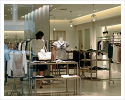 Realization of a comfortable shop environment while cutting costs